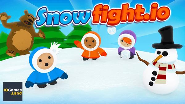 Игра Snowfightio